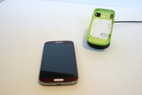 Galaxy S4 & Palm Pixi case